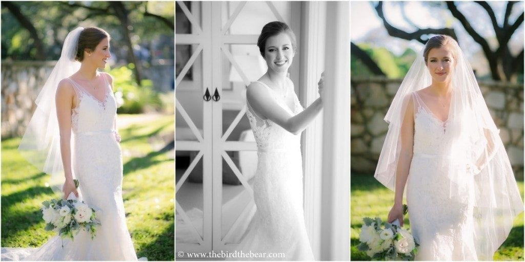 Where to take bridal portraits in Austin, TX.